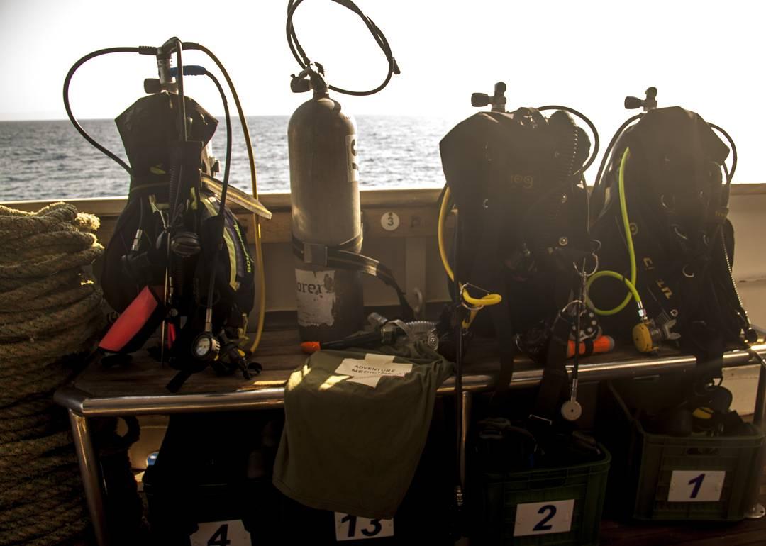 Vrakdykning i Röda havet